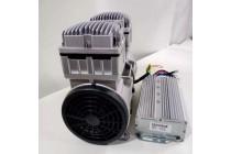 直流24V活塞式550W無油空氣壓縮機